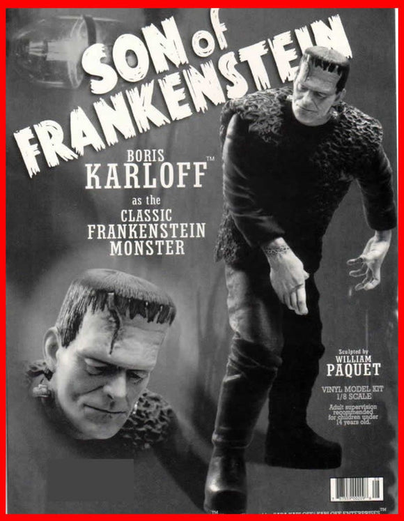 Son of Frankenstein Boris Karloff 1/6 vinyl model kit figures - indymodel88