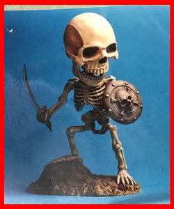 Skeleton sd 7th Voyage of Sinbad resin model kit figures - indymodel88