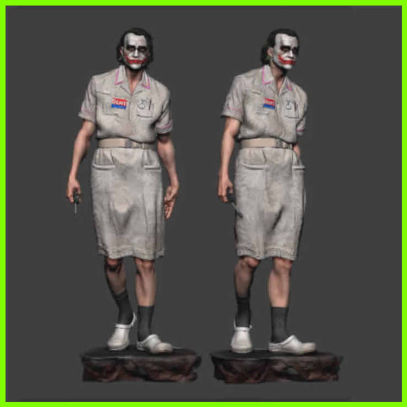 Nurse Joker - STL File for 3D Print - indymodel88