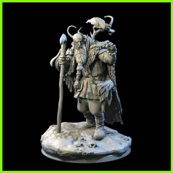 Necromancer- STL File for 3D Print - indymodel88