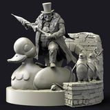 Penguin Batman - STL File for 3D Print - indymodel88