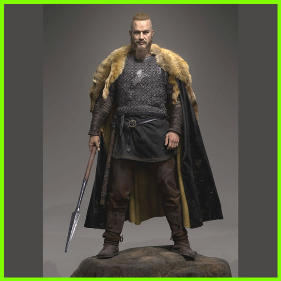 Ragnar Lothbrok Vikings - STL File for 3D Print - indymodel88