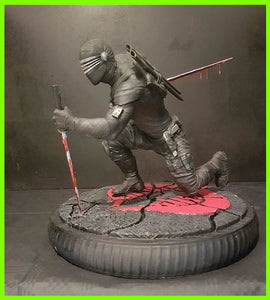 Snake Eyes - STL File for 3D Print - indymodel88