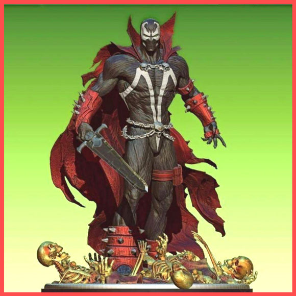 Spawn - STL File for 3D Print - indymodel88