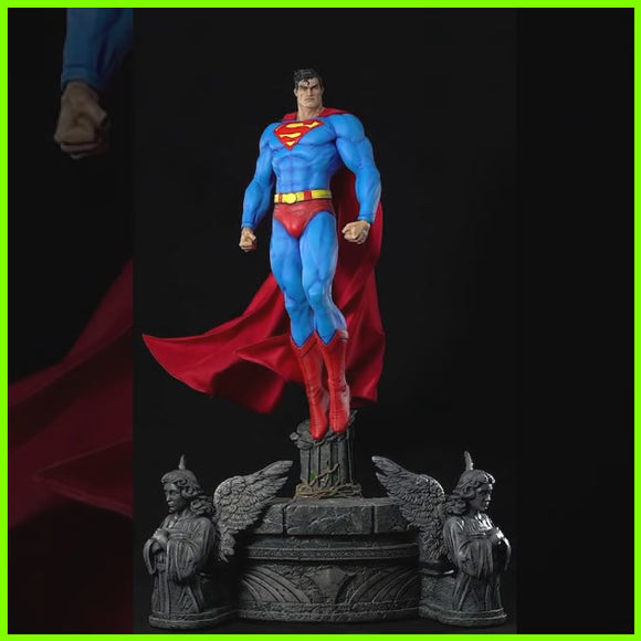Superman DC Comics - STL File for 3D Print - indymodel88