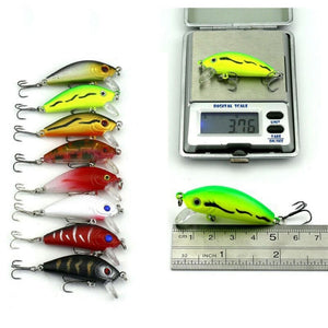 43 Pcs Mixed Fishing Lure Set