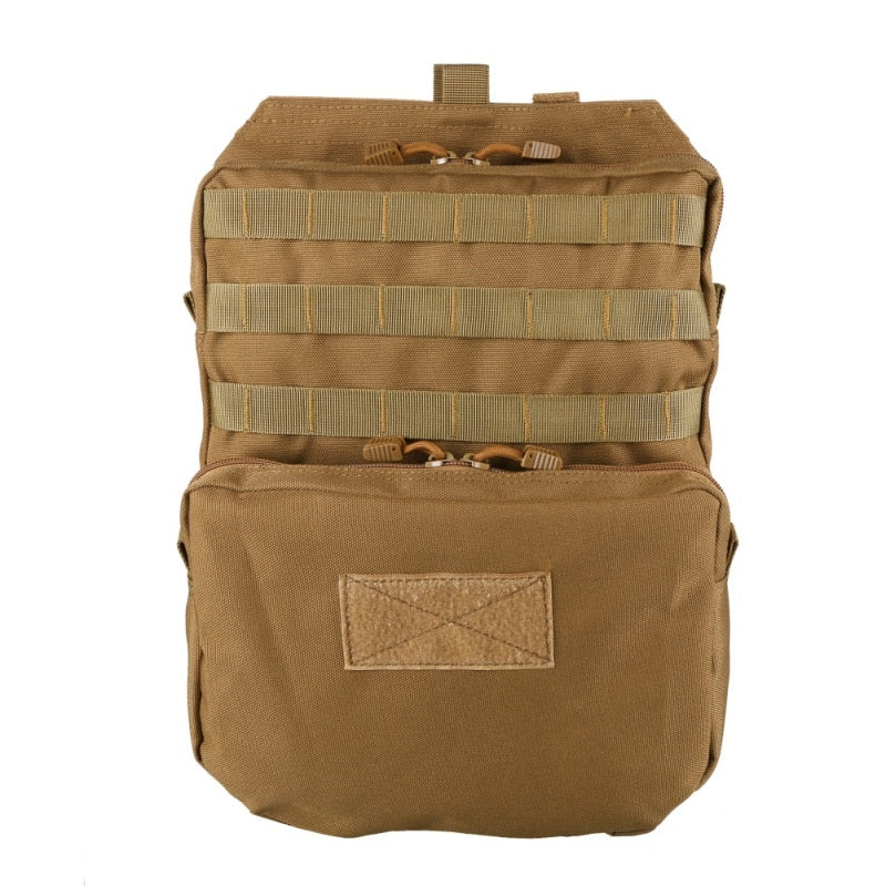 ( New) Tactical Molle Nylon Hydration Bag For Hunting, Hiking