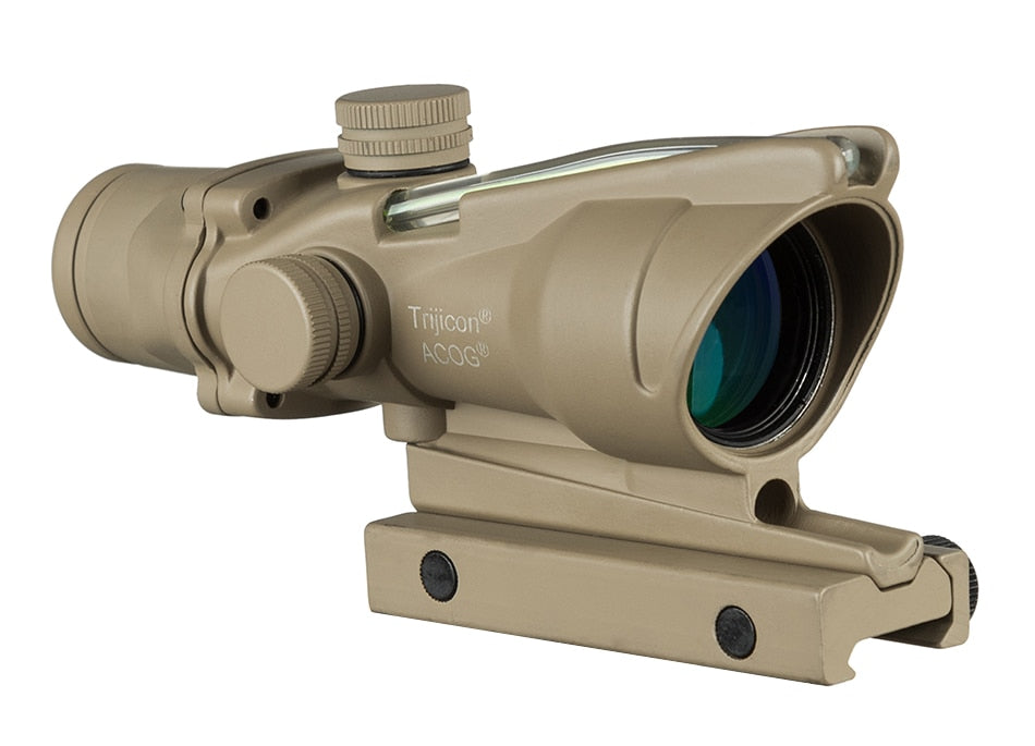 Hunting Riflescope ACOG 4X32 Real Fiber Optics