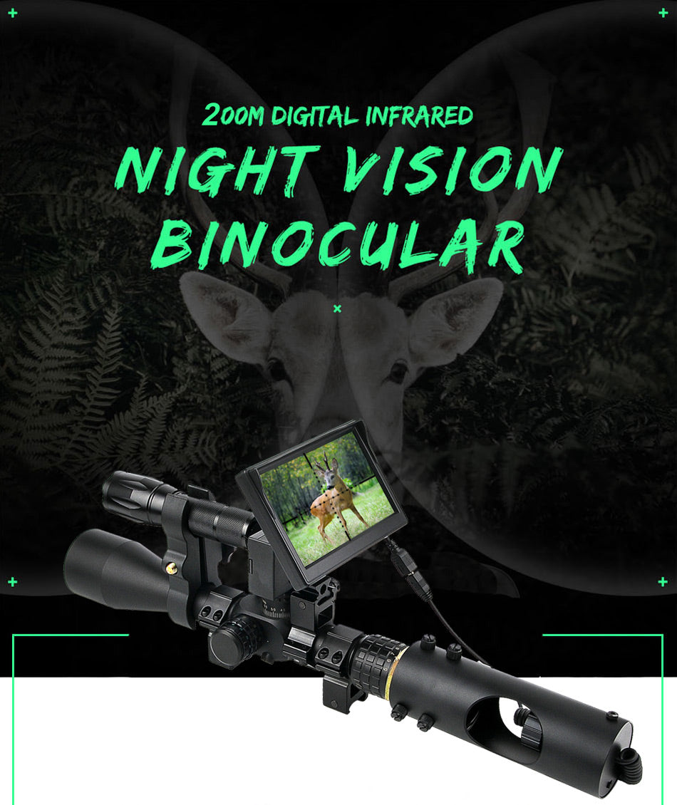 Night Vision Riflescope Hunting Scopes Optics Sight