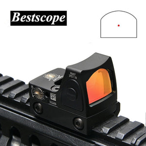 Mini RMR Red Dot Sight Collimator Glock / Rifle Reflex Sight Scope