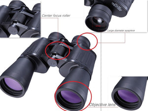 SCOKC Hd 10X50 powerful zoom Binoculars