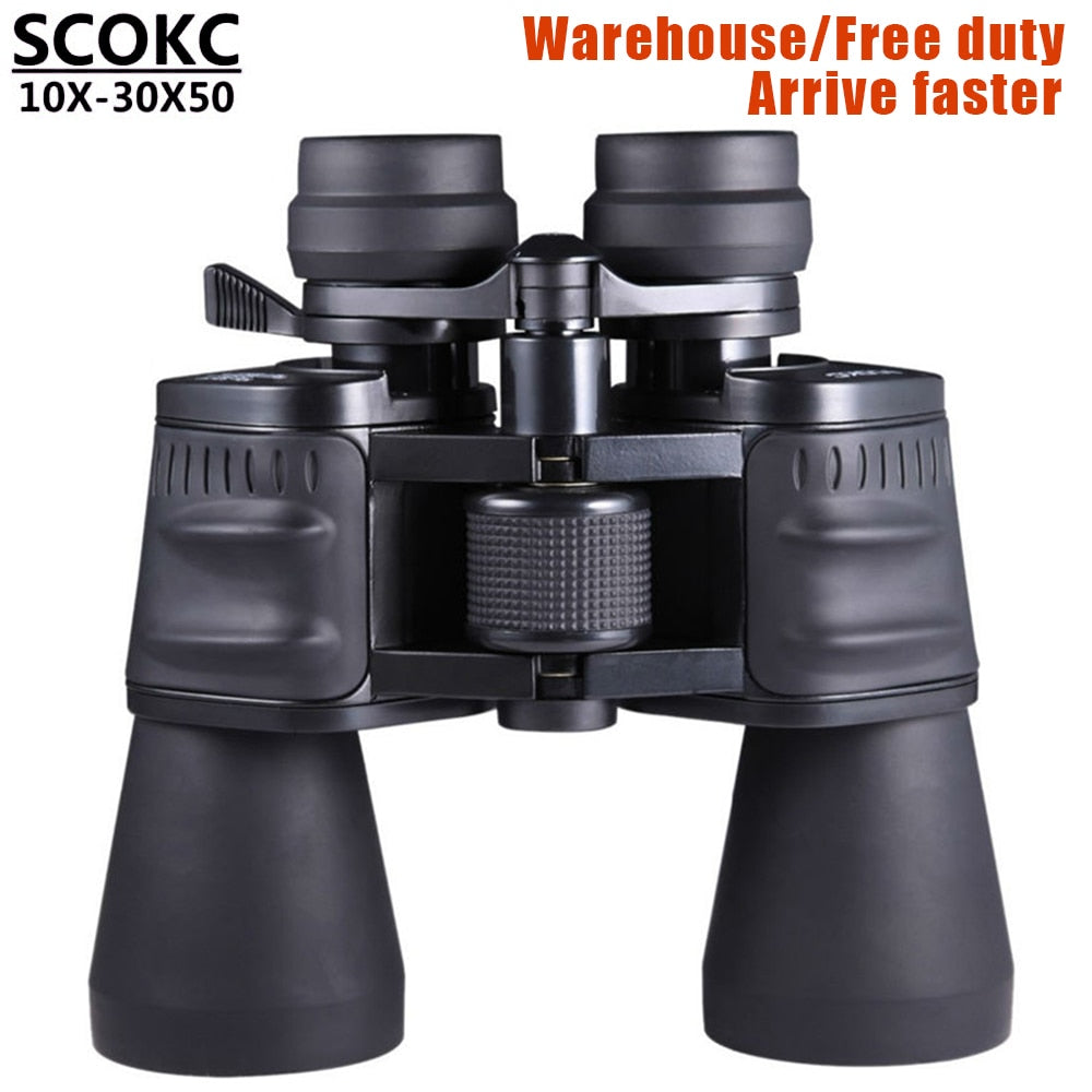 SCOKC10-30X50 power zoom  Binoculars