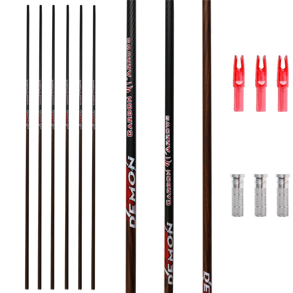 MS Jumpper Carbon Arrow Shafts 12Pack