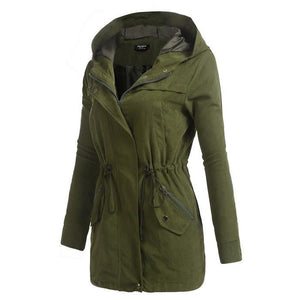 FINEJO Women Autumn Jacket