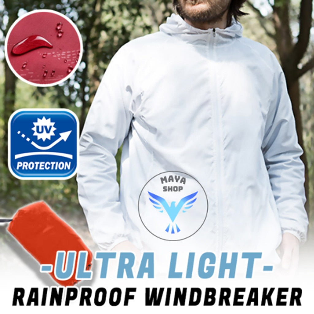 Waterproof Windproof Cycling Windcoat Jersey For Men & Women