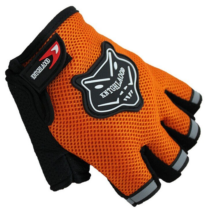 New Summer Bike Half Short Cycling Finger Glove