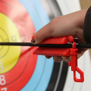 New Outdoor Black Silicone Gel Archery Target,Hunting Arrow Puller