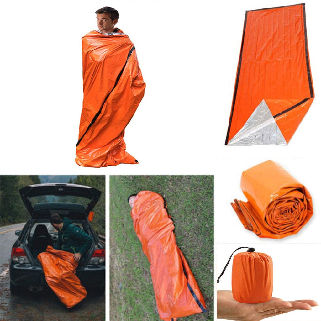 Emergency Sleeping Bag Thermal Waterproof Blanket