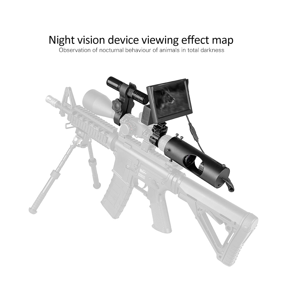 Night Vision Riflescope with Hunting Camera
