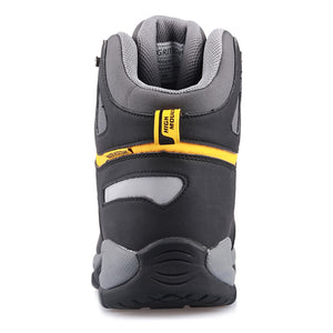 GRITION Mens Lg Size Waterproof Winter Hiking Boots