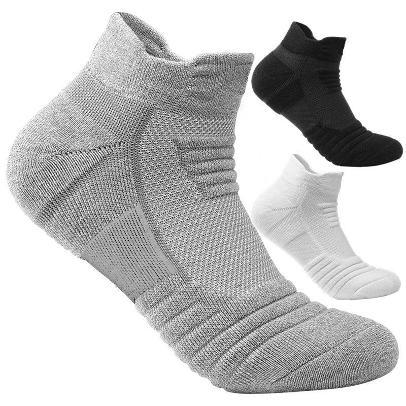1 Pair  (New) Running , Basketball, Football, Cycling, Men+ Women Anti Slip Socks