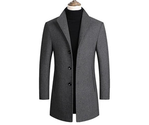 Mountainskin Men Wool Blends  Luxurious Brand Clothing SA837