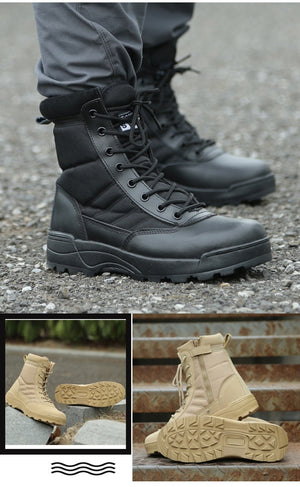Men Desert Tactical Military Boots