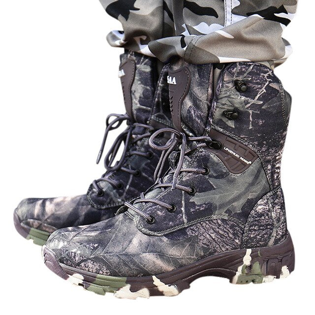 SAGACE Camo Hunting Waterproof Outdoor Boot