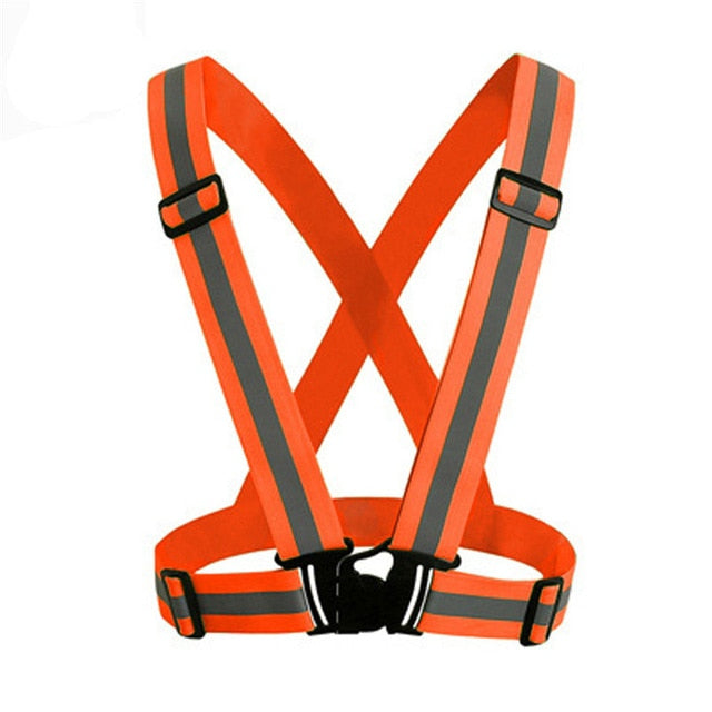 Adjustable Safety Security High Visibility Reflective Vest