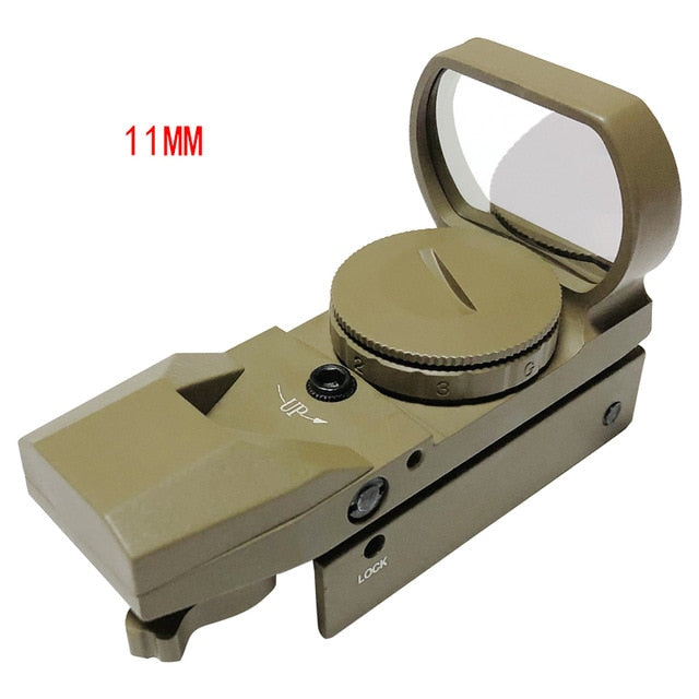 Riflescope 20mm Rail Holographic Red Dot Sight