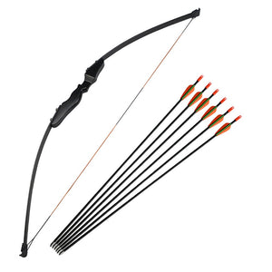 Fiberglass Arrows +30lbs/40lbs Adult Archery Recurve Bow Straight Bow Taken down Arrows Right Hand Shooting