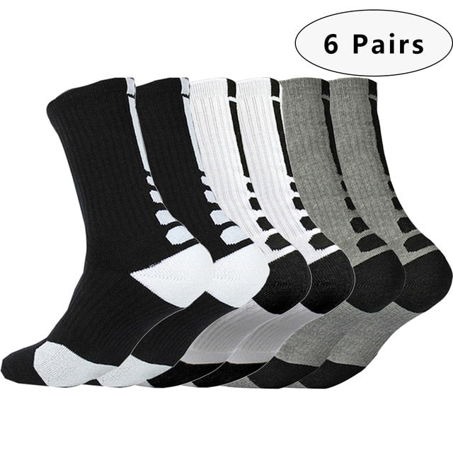 New Sfit Men Professional Basketball  Sports Cycling Running Football Hiking Compression Socks