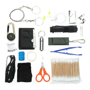 SOS Emergency Bag 241Pcs/Set Camping Survival Equipment