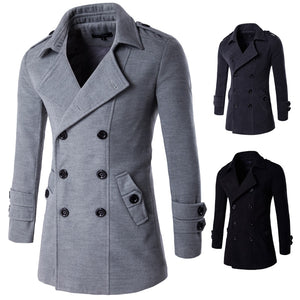 High Quality Men's Wool Coats Luxurious Wool Blends