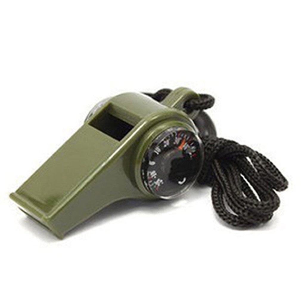 3 in 1 Multifunctional Whistle, Compass, Thermometer