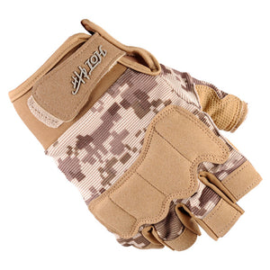 Best selling army fan half finger  tactical gloves