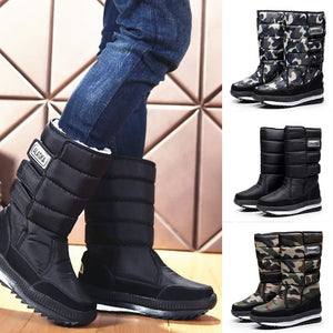 Men's Warm Hook Winter Boots