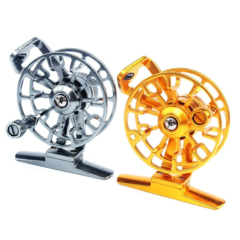 Aluminum Fly Fishing Reel Diameter 53mm Right Hand Retrieve l