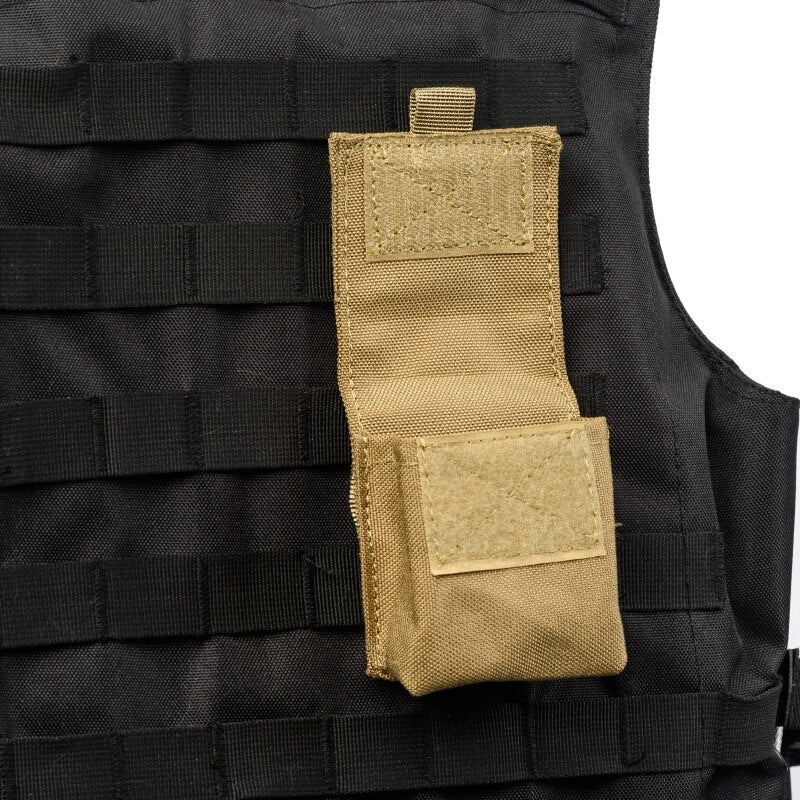 Military Molle Pouch Tactical Single Pistol Magazine