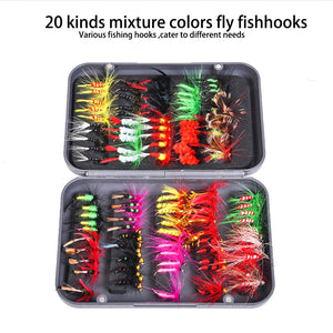Leo Fly Fly Fishing Hook Box 28055 With Foam