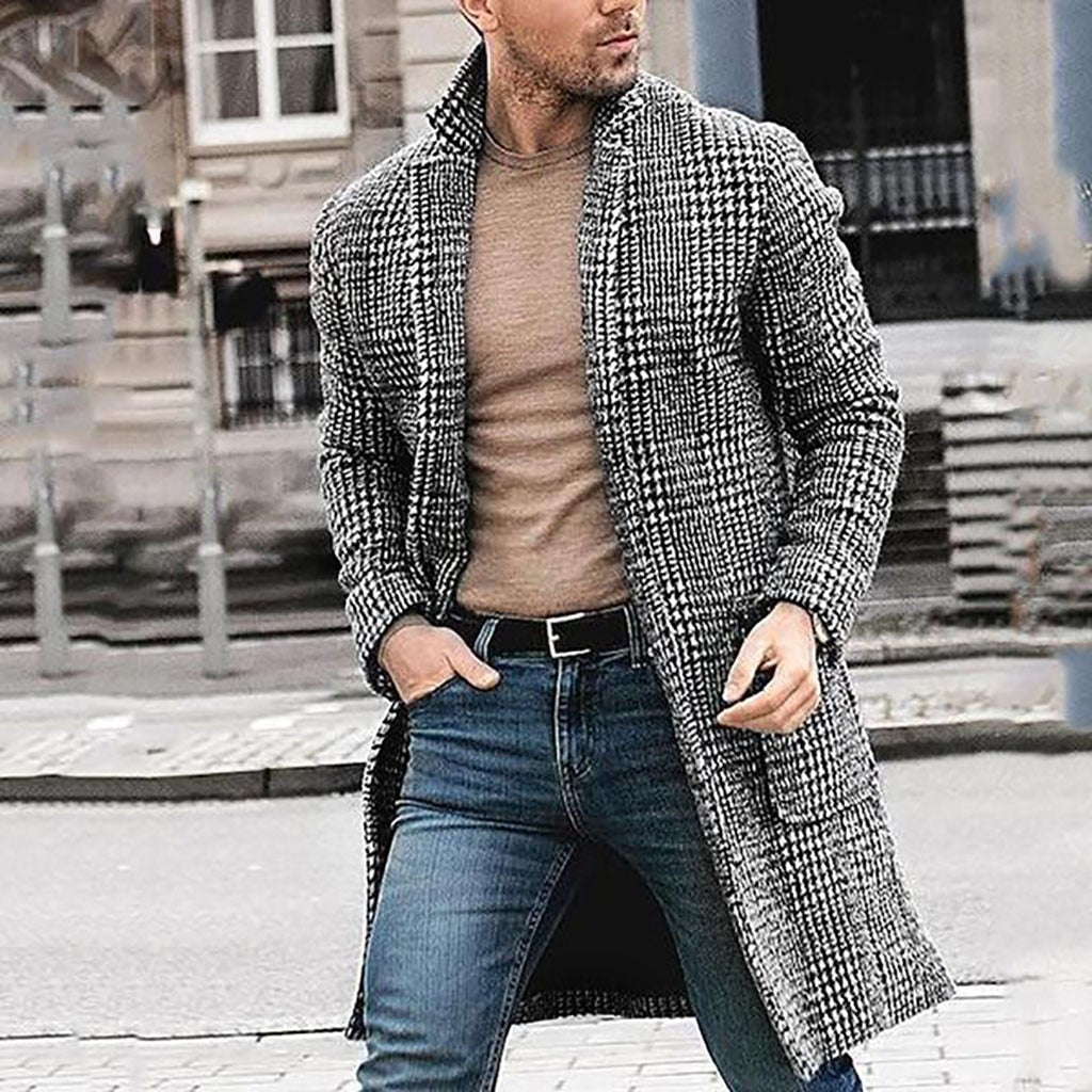New Arrivals Fashion Mens long coat