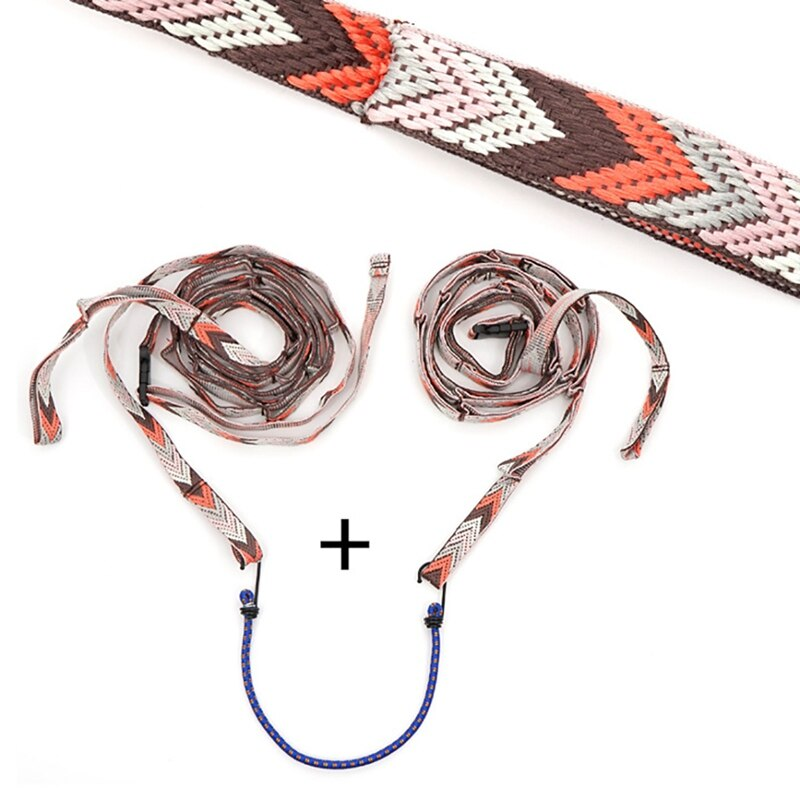 Outdoor Camping Lanyard With Hooks Adjustable Tent Hanging Rope