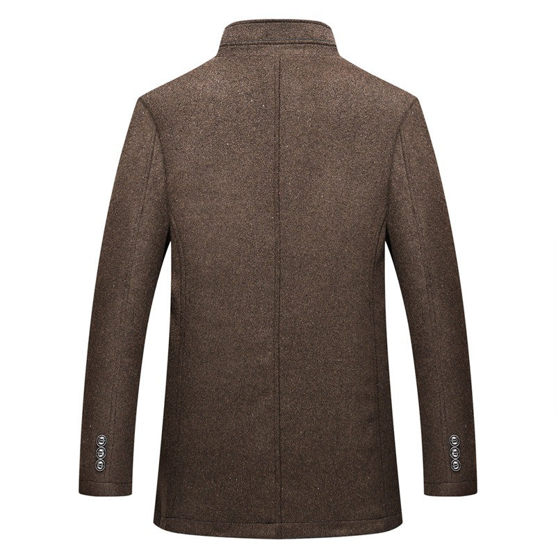 Winter Warm Wool Single Breasted Coats And Jackets