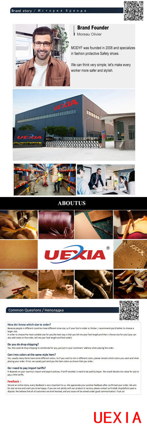 UEXIA New Footwear Military Tactical Mens Boots