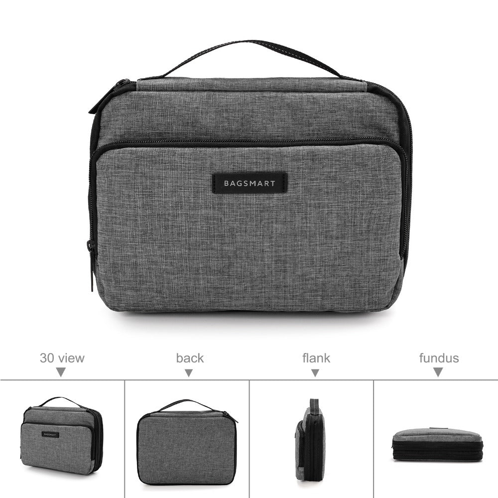 Large Capacity Electronics Accessories Bag