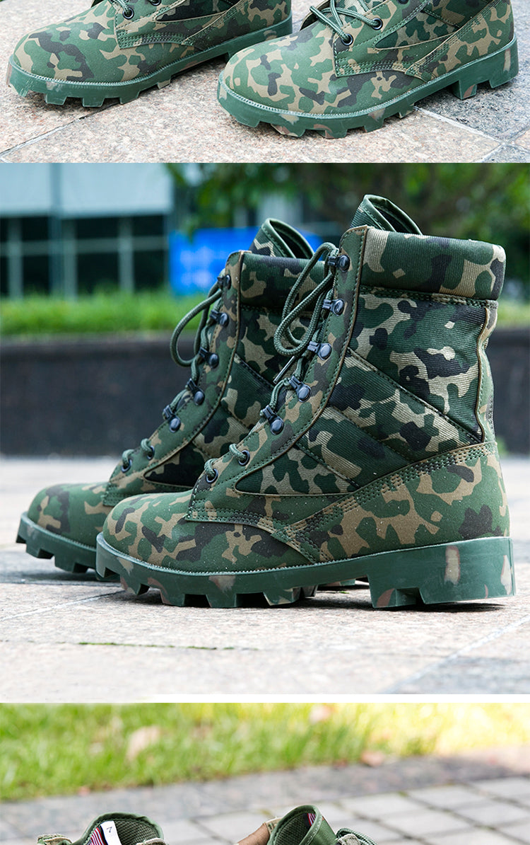 Winter Built Tactical Style Boots