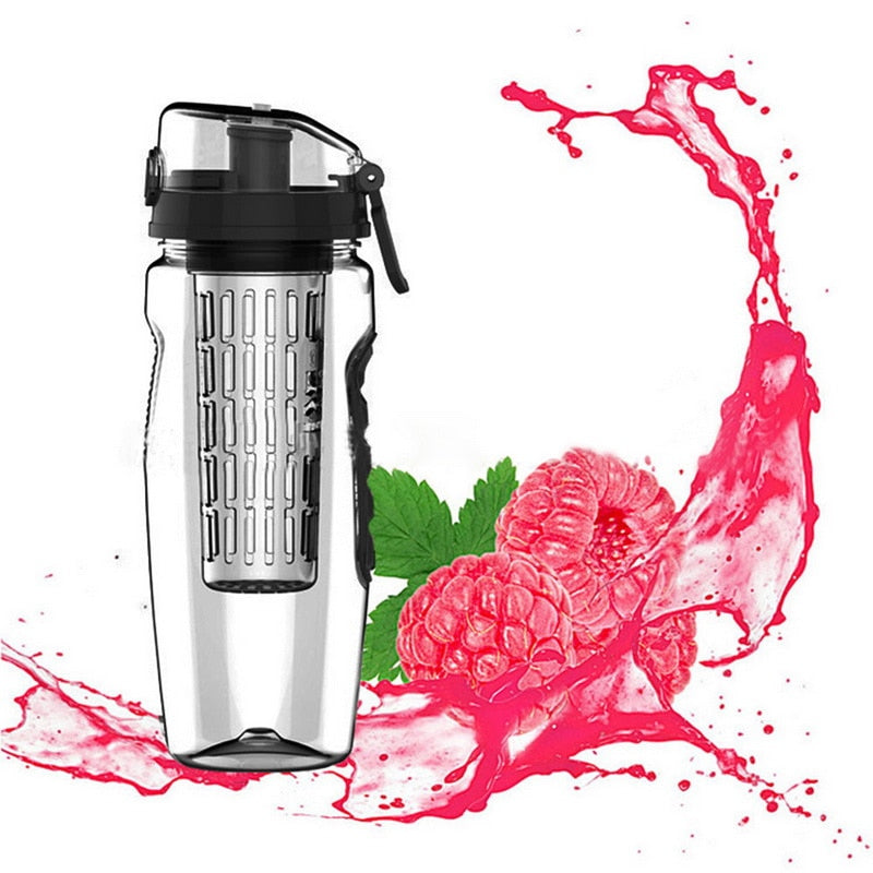 1000ml Sports Bottles Fruit Infuser Juice Shaker Kettle
