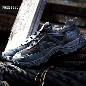 FREE SOLDIER Camping Climbing Hiking Boots Mountain Non-slip Ultra-light Shoes
