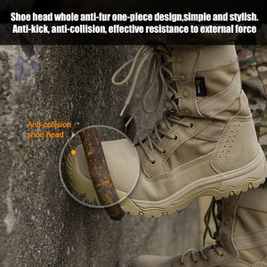 FREE SOLDIER Outdoor sports shoes for camping hiking climbing