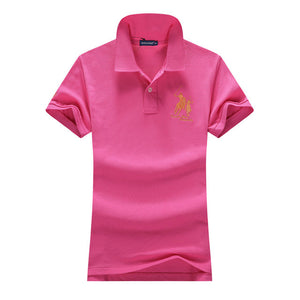 Women POLO Shirts Summer Fashion